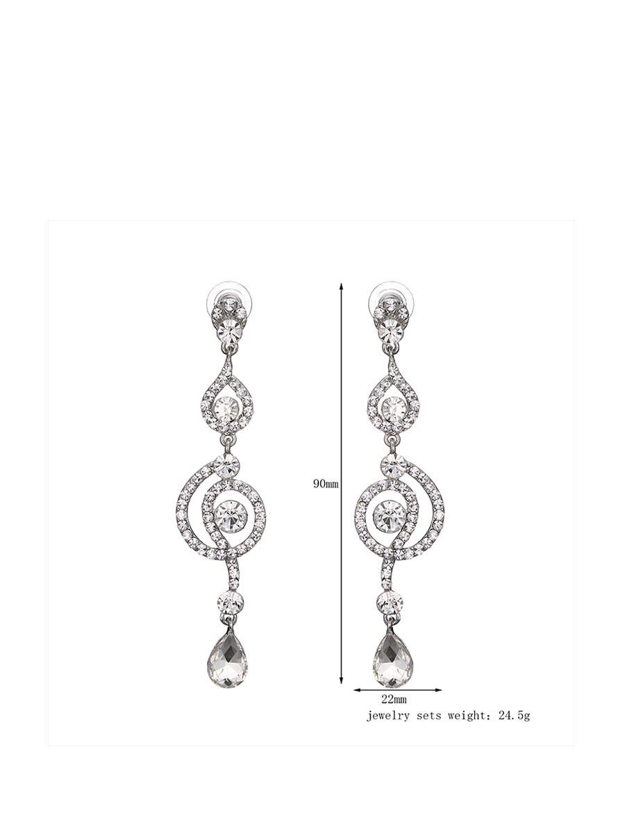 Hanging Tanishq Diamond Earrings Sparkle Ball Earrings Silver ...