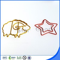 Plastic box packaging sheep paper clips unique promotional gifts
