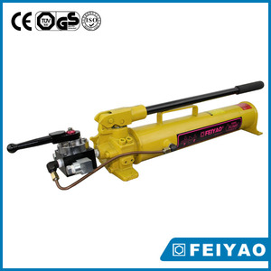 Manual hydraulic piston pump lightweight hydraulic hand oil pump