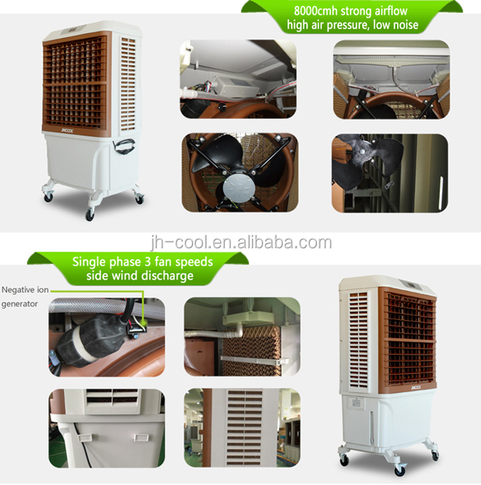 Eco Friendly Carrier Floor Standing Air Conditioner With Big Water ...