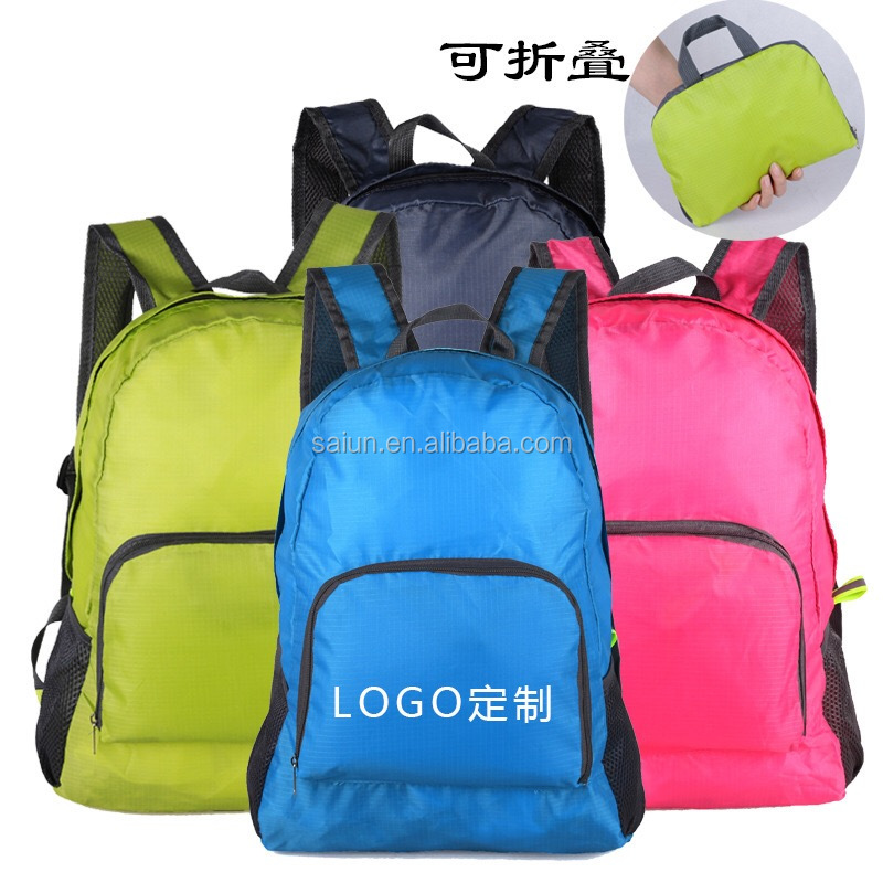 The Best Custom FoldableWaterproof Lightweight Nylon Travel Backpack