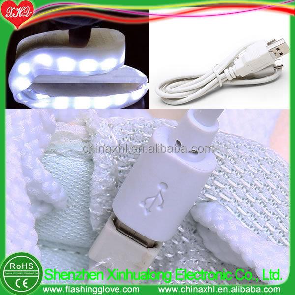 flashing up LED shoes light Customized THCR4aqn