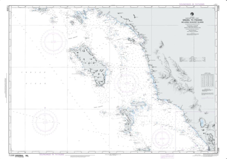 NGA Chart 71009-Singkil To Padang Including Adjacent Islands
