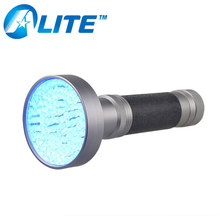 100 LED High Power Inspection UV Torch Long Distance Flashlight With UV Light