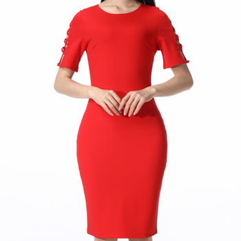 summer Fashion Women Formal Wear Clothes Sexy Causal Ladies Office Dress