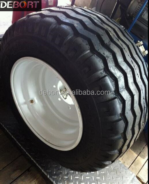 Agriculture implement tire 11.5/80-15.3 10.0/75-15.3 fitted wheel rim 9.00x15.3
