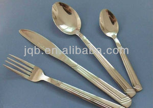 Stainless steel Flatware set with Stand