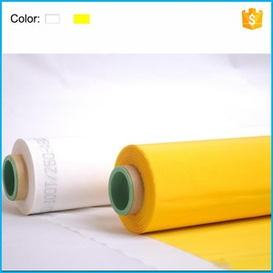 High Tension Polyethylene Silk Screen Printing Mesh 40-420Mesh