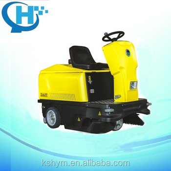 T701 Doppelbürsten Ride on Floor Sweeper Machine