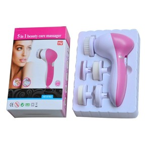 2019 Amazon New Electric Vibrating Sonic Facial and Body Cleansing Brush Face Brush Waterproof Skin Exfoliating Cleansing System
