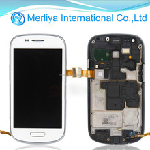 LCD Display Touch Screen Digitizer Frame for Samsung Galaxy S3 Mini i9300 i8190