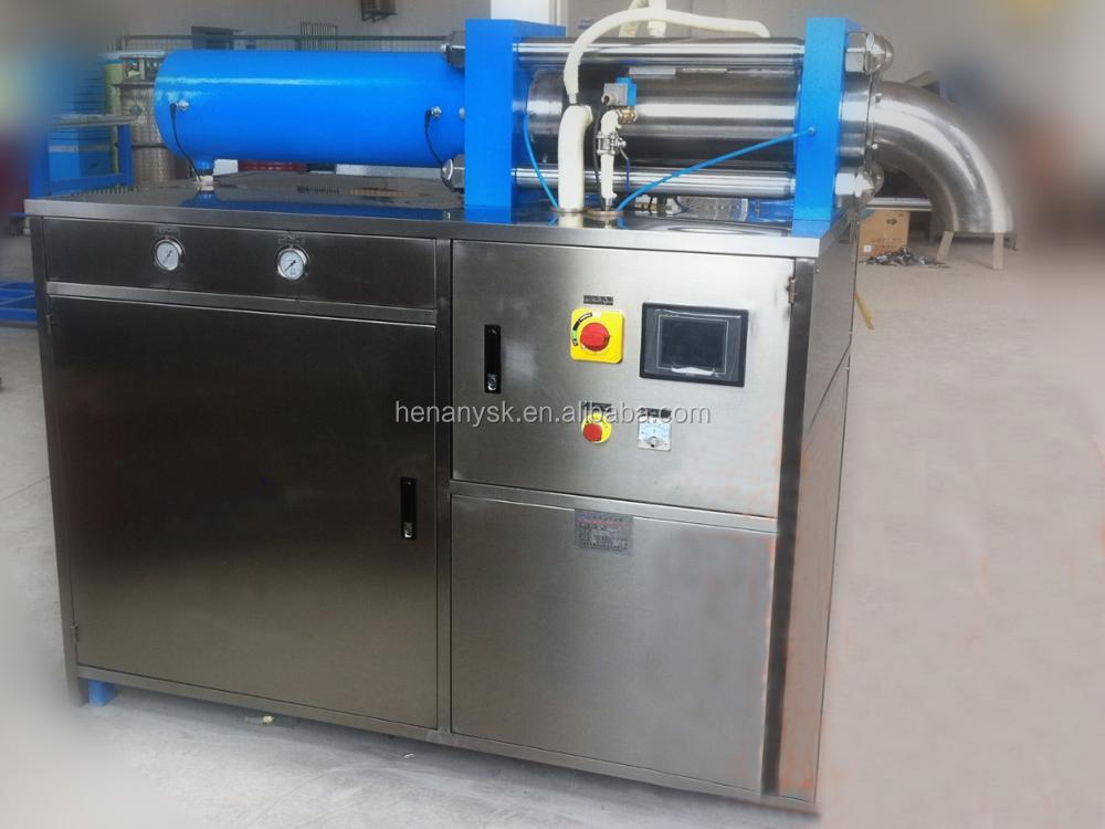 IS-YGBK-300-2 Double Headed Particles Columns Dry Ice Maker Dry Ice Making Machine