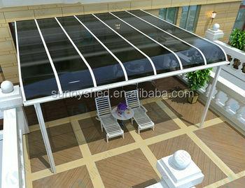 Aluminium patio luifel cover terras luifel sunnyshed tuin