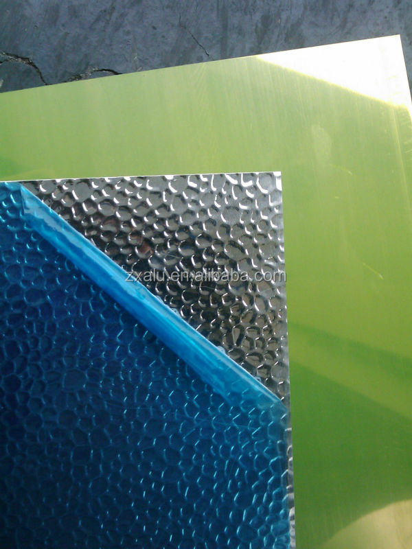 Mirror Finish Hammer/pebble Pattern Aluminum Sheet From China ...