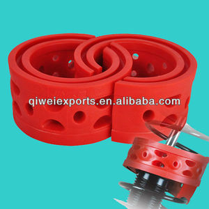 Red spring shock absorbing buffer for car B