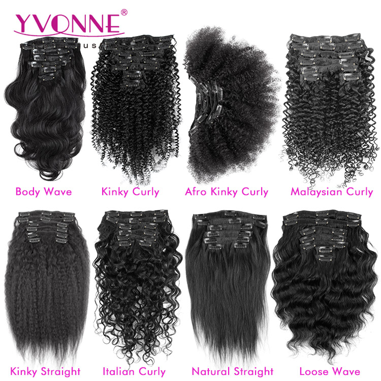 Different Types Of Clip In Hair Extensions For Black Women Buy