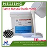 strong strick mosaic glue for glass paste baking mesh
