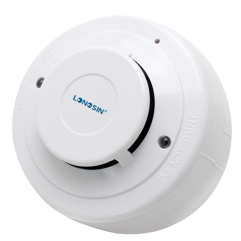 Custom made smoke and heat detector with led with best service