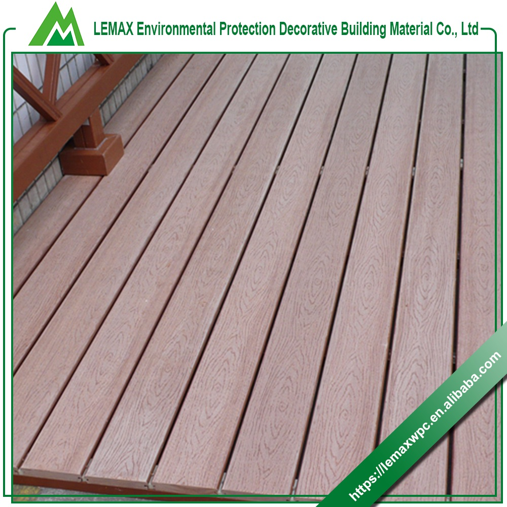 Best brand sound insulation artificial garden path wpc for Compare composite decking brands