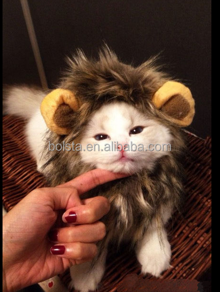 Pet Dog Christmas Halloween Lion Mane Wig halloween costume manufacturers china