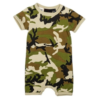 2018 latest fashion baby romper boy battle fatigues clothing manufacturers