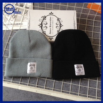 Yhao amazon supplier winter knit hats and caps men women taobao beanie warm  fashion headwear 8af306cd8a3