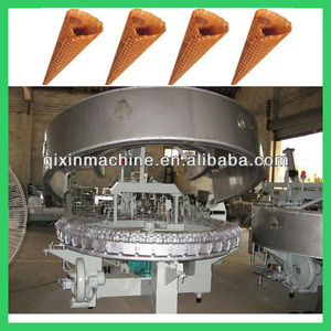 Most popular automatic 2500pc/h ice cream cone wafer biscuit machine for sale