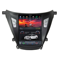 Navihua 10.4'' Android 7.1 Vertical Screen Tesla Style Car DVD Player Multimedia System for Hyundai Elantra 2012-2016