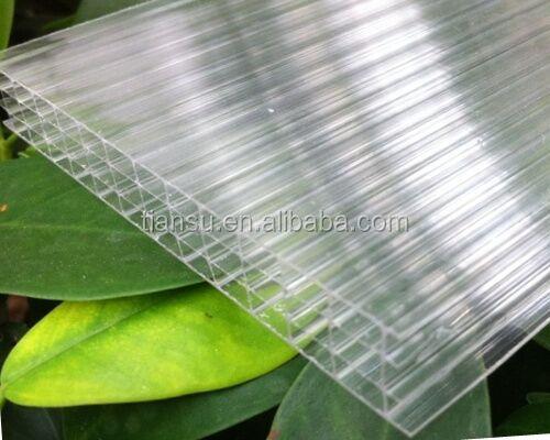 100 Lexan De Polycarbonate à Double Paroi En Plastique Conseil Creux Feuille Pour Couverture