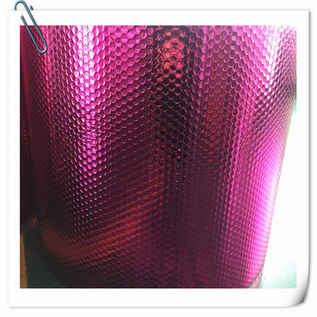 High R-Value Pure Aluminum Single Bubble Foil Heat Insulation for Roof and Floor