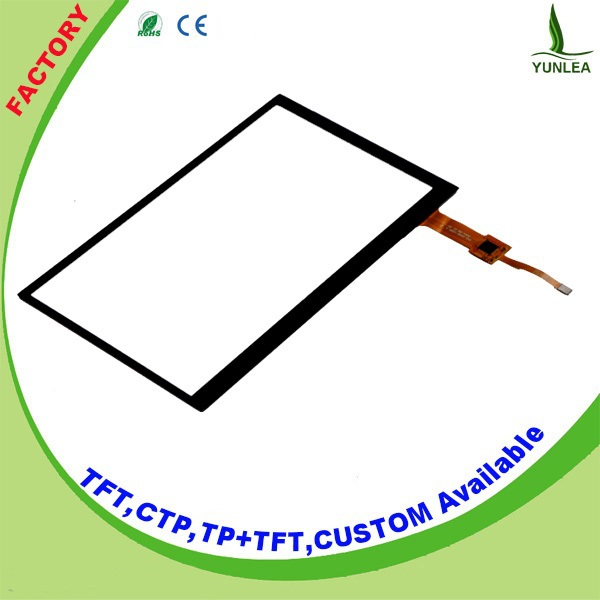 High quality G+G structure 2.4 inch to 13 inch screen touch panel