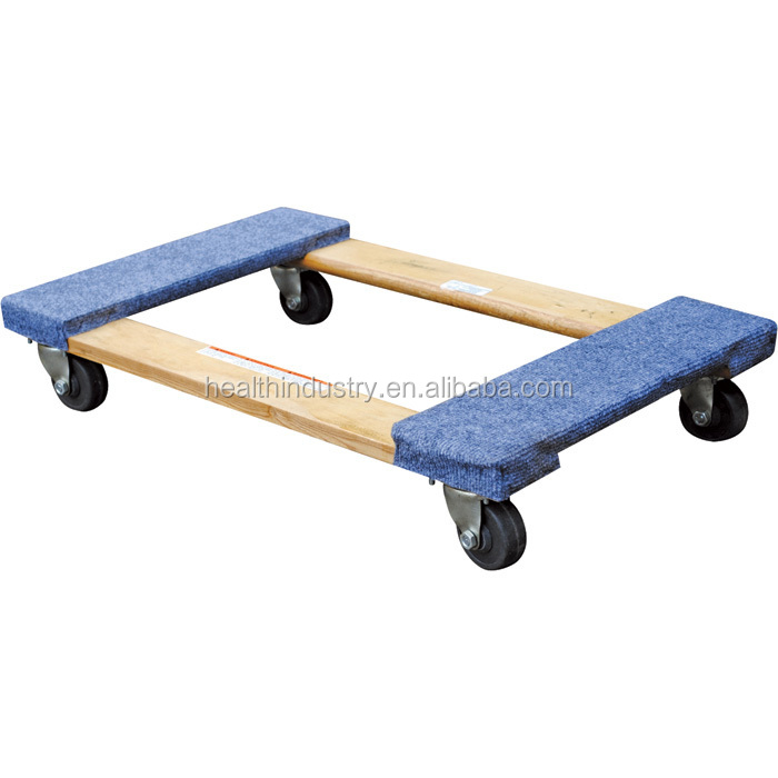 Rubber Bumper Movers Dolly With 4 Quot X 1 1 4 Quot Colson High