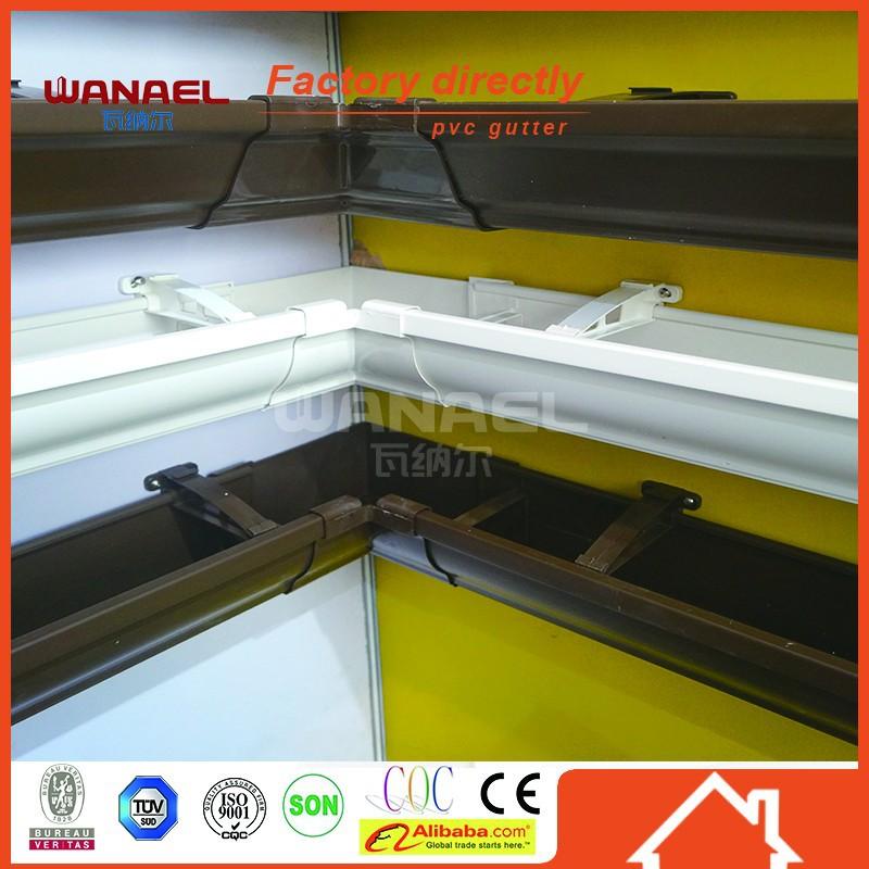 Wanael Pvc Roof Water Gutter System Best Selling Plastic