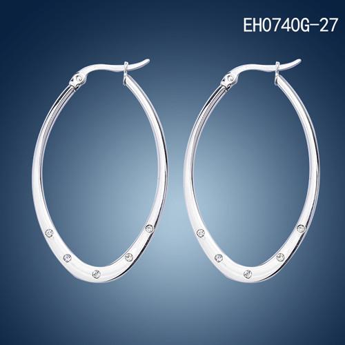 Big O Shape Earring Hoop Stainless Steel Thick Fake Diamond Hoop Earrings Buy Earring Hoop Thick Hoop Earrings Fake Diamond Hoop Earrings Product On Alibaba Com