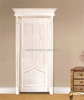 High end solid oak wood door bedroom door french door