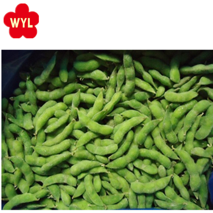 HACCP KOSHER HALAL BRC FDA BSCI NEW SEASON quality China season new crop IQF frozen soy beans with pod