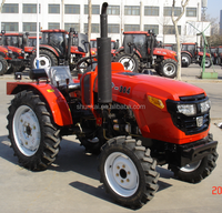 2018 new style 30hp small farm tractor with plough for sale