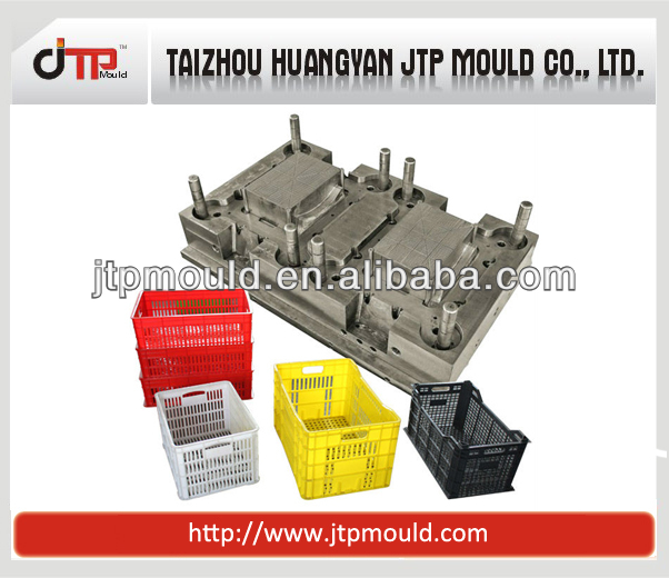 provide all kinds of plastic crates moulds in taizhou,china