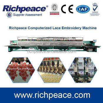 Computer Digital Embroidery Machine For Saree Design