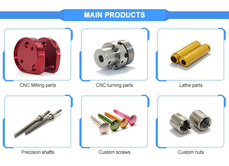High Demand Aluminum Precision Custom CNC Machining Parts