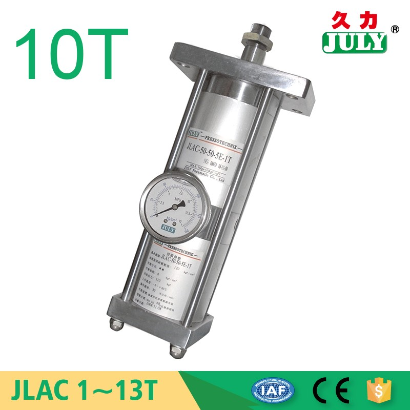 China JULY supplier compact alluminum alloy pneumatic cylinder