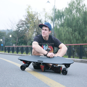 2000W Belt Motor 45kmh Electric Longboard Long Board Boosted Off Road Electric Skateboard Long Board Longboard
