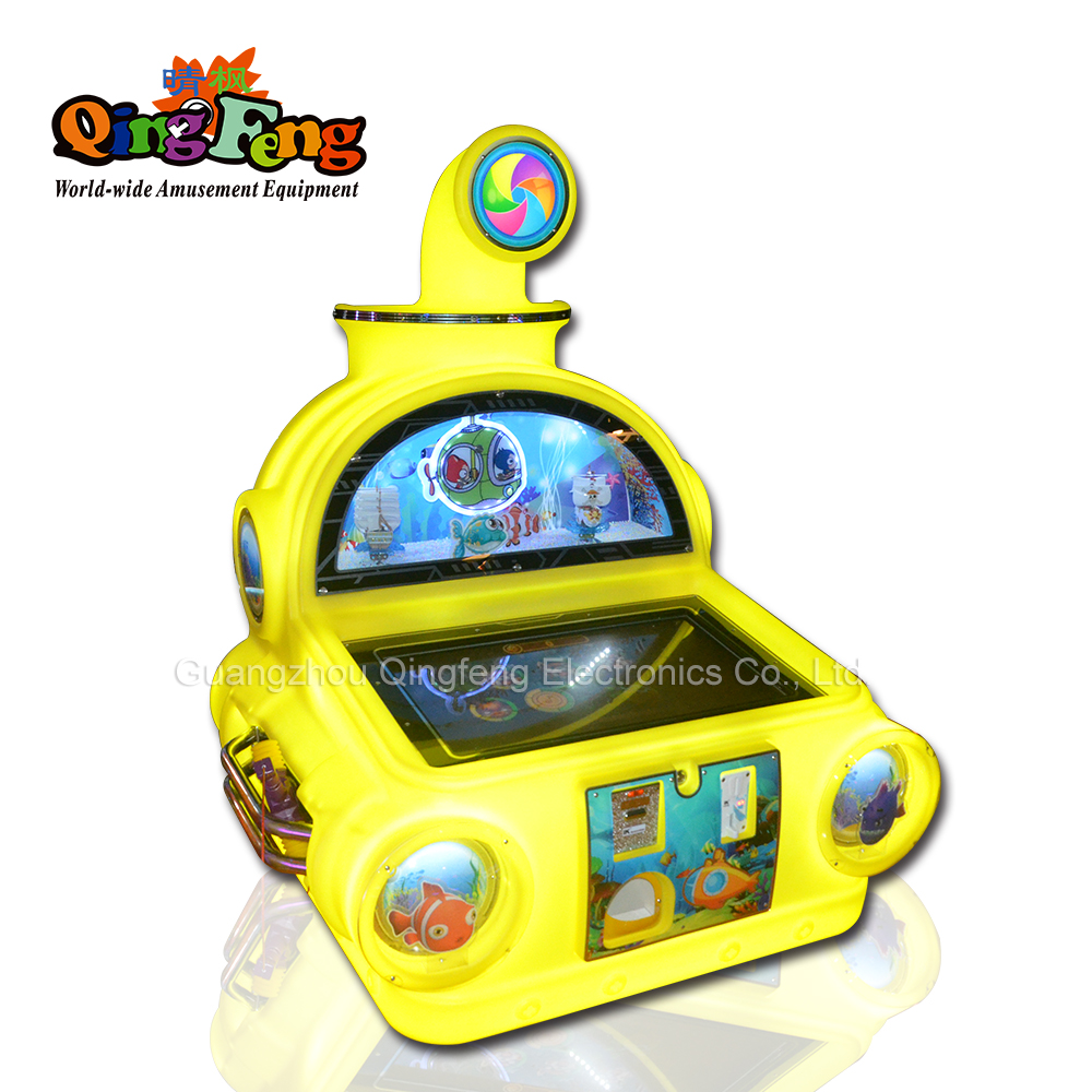 Qingfeng 32 inch touch screen  children game entertainment equipment parent-child playground lottery toy machine