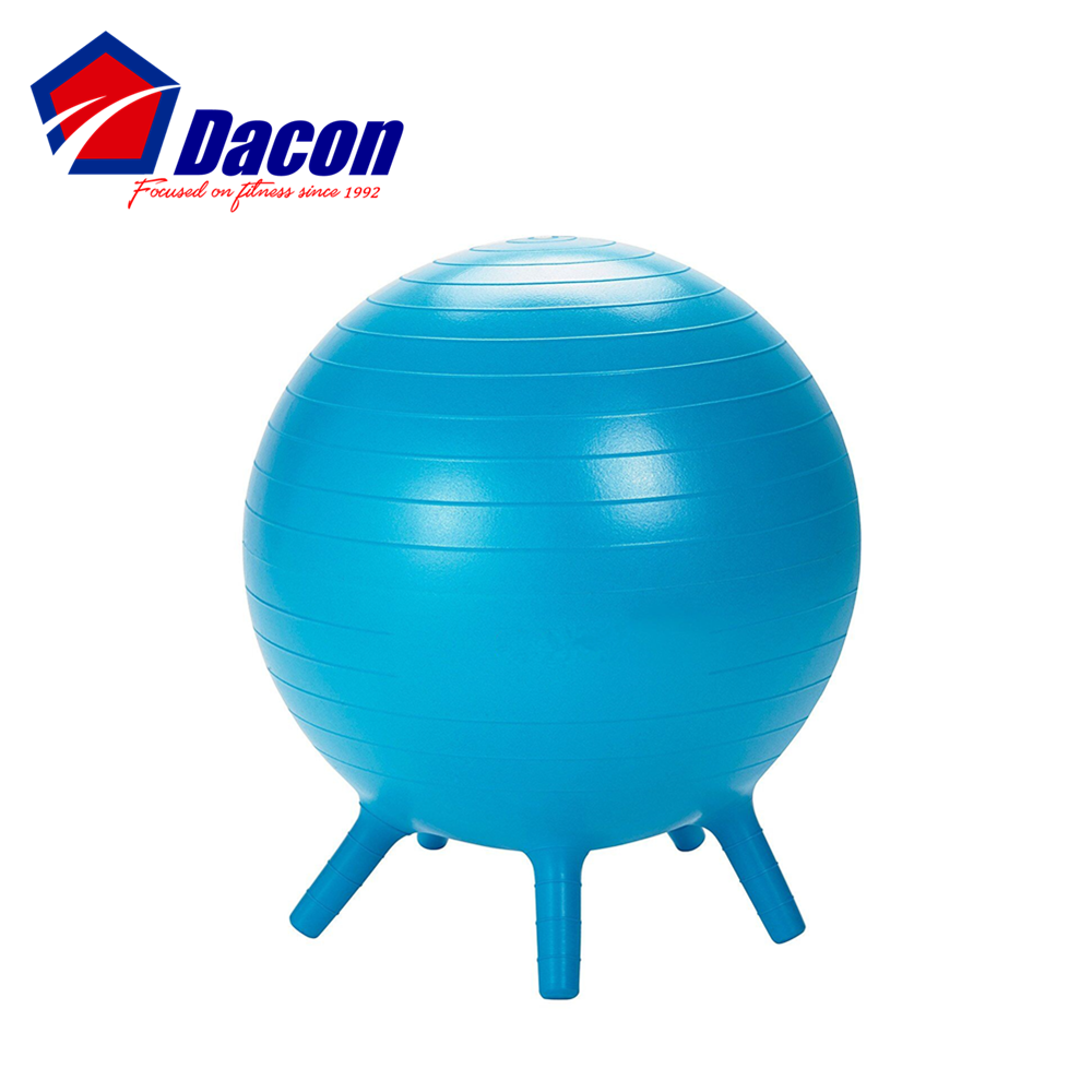Children S Inflatable Balance Ball Desk Chair With Stability Legs Buy Yoga Ball With Legs Children S Balance Ball Kids Balance Ball Product On Alibaba Com