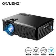 โรงงาน Original SD60 Mini Projector 1920x1080 วิดีโอ Pocket Wifi LED Projector
