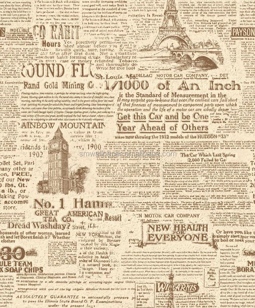 old newspaper design wallpaper special design - buy newspaper design