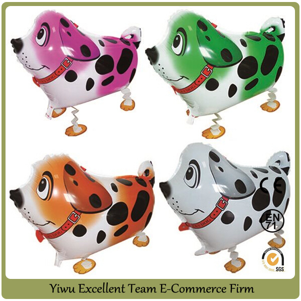 Helium walking animal balloon pet balloons