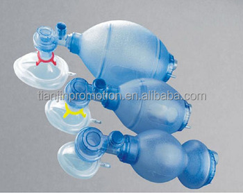 PVC Manual Resuscitator Ambu Bag With Factory Supplied