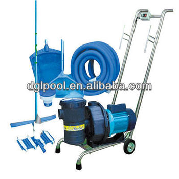 Swimming Pool Vacuum Cleaner Semi Manual Cleaner Dn 3002