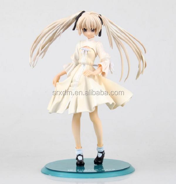 Japanese White Dress Girl Action Figure,Oem Anime Action Plastic ...